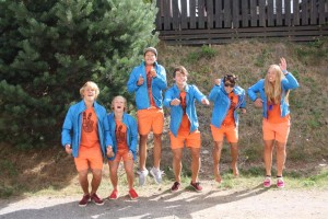 2014-75 Nederlands team op WK Cable Championships 2014